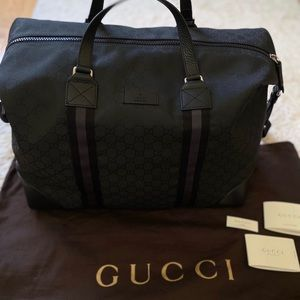 GUCCI GG Guccissima XL Travel/Weekend Duffle Bag